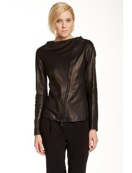 emporio-armani-heavy-leather-jacket by giorgio-armani