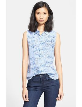 colleen-print-silk-shirt by equipment
