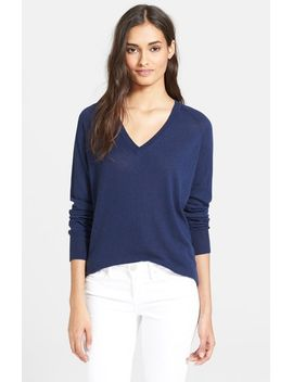 asher-v-neck-sweater by equipment