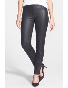 faux-leather-ponte-skinny-jeans by jen7