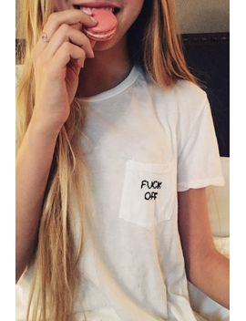 ieva-f*ck-off-embroidery-top by brandy-melville