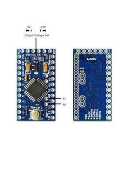 pro-mini-enhancement-33v_5v-adjustable-8mhz-mega328p-(arduino--compatible) by tinysine