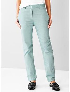 broken-in-straight-chambray-pants by gap