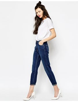 monki-kimomo-mom-denim-jean by monki