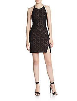 tenya-lace-racerback-dress by bcbgmaxazria