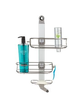 simplehuman®-flip-&-fit-shower-caddy by container-store