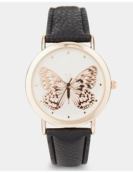 new-look-raised-butterfly-watch by new-look