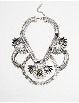 aldo-saltcoats-stone-loop-collar-necklace by aldo