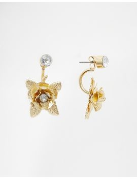 asos-big-flower-swing-earrings by asos-collection