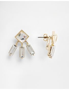 asos-crystal-square-swing-earrings by asos-collection
