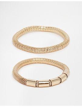 weekday-snjk-mesh-tube-multipack-bracelet by weekday