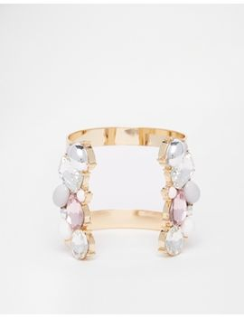 aldo-plachta-stone-set-open-cuff-bracelet by aldo
