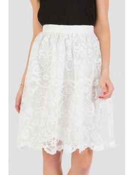 bloomington-lace-midi-skirt by francescas