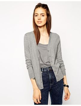 asos-cardigan-with-v-neck by asos-collection