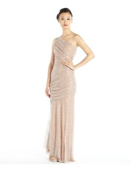 mauve-sequined-lace-one-shoulder-draped-gown by valvo