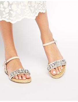 dune-lemins-embellished-leather-espadrille-sandals by dune