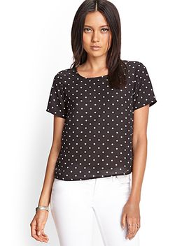 boxy-polka-dot-top by forever-21