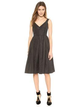 dotted-jacquard-dress by jill-jill-stuart