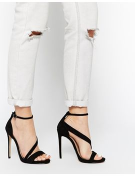 carvela-gosh-black-strap-heeled-sandals by carvela