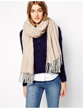 pieces-oversized-wrap-scarf by pieces