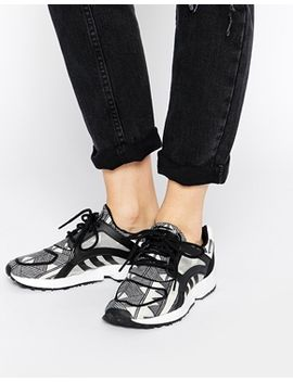 adidas-originals-racer-lite-black-print-trainers by adidas