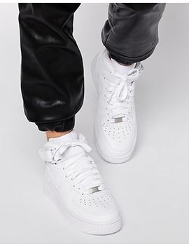 nike-air-force-1-07-mid-white-trainers by nike