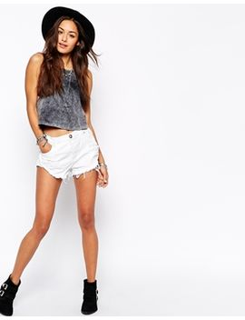 one-teaspoon-bandit-shorts-in-white by one-teaspoon