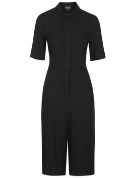 button-up-culotte-all-in-one by topshop