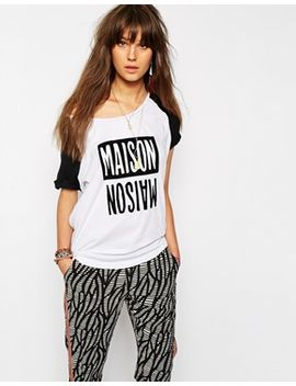 maison-scotch-signature-t-shirt-in-colourblock by maison-scotch