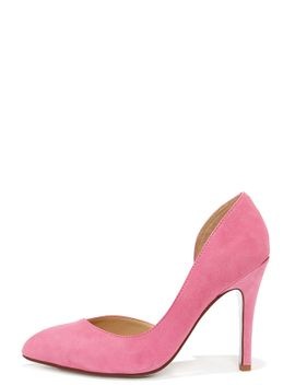 chinese-laundry-copertina-pink-kid-suede-dorsay-heels by kristin-cavallari