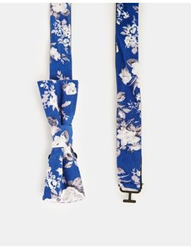 asos-skinny-bow-tie-in-floral by asos