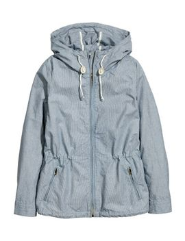 jacket-in-cotton-twill by h&m