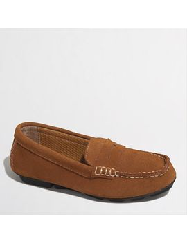 factory-boys-suede-penny-loafers by jcrew