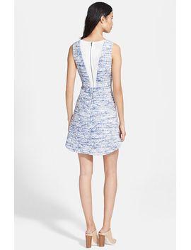 gena-tweed-sheath-dress by alice-+-olivia