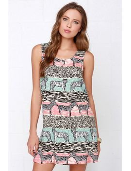 mink-pink-safari-adventure-jungle-print-shift-dress by minkpink
