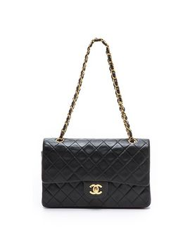 chanel-255-10-shoulder-bag by what-goes-around-comes-around