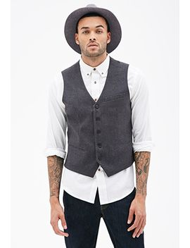 satin-back-suit-vest by forever-21