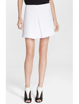 williams-chevron-quilted-skirt by rachel-zoe