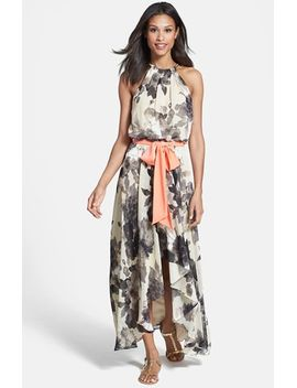 floral-print-chiffon-maxi-dress by eliza-j