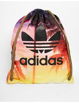 adidas-originals-gymsack-in-palm-print by adidas
