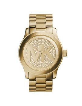 runway-logo-rose-gold-tone-watch by michael-kors