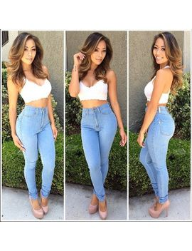classic-high-waist-skinny-jeans---light-blue by fashion-nova