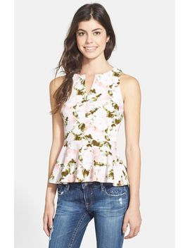quilted-peplum-tank by soprano