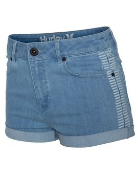 High Waisted Denim Short by Hurley