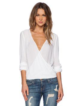 challis-shirts-joon-drape-top by velvet-by-graham-&-spencer