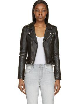 black-classic-moto-jacket by blk-dnm