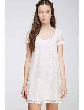 daisy-lace-shift-dress by forever-21