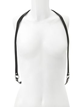 faux-leather-harness by forever-21