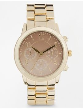 new-look-gold-ombre-metal-watch by new-look