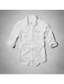 shea-boyfriend-shirt by abercrombie-&-fitch